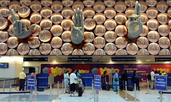 аэропорт в Дели