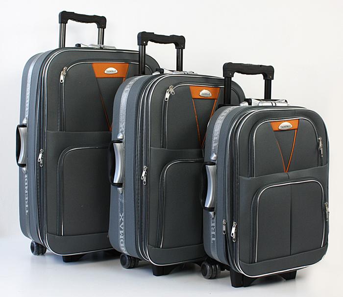 Вместимость чемоданов