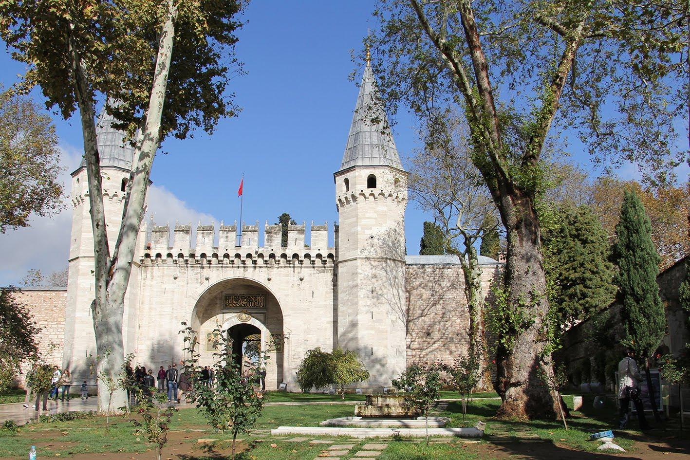 Дворец Топканы