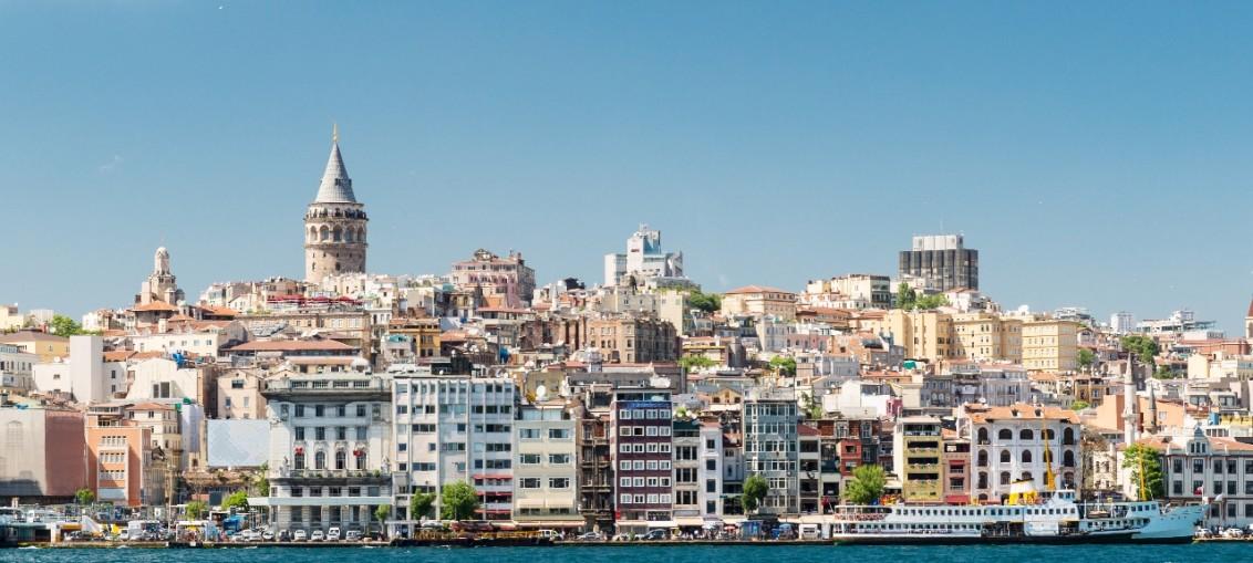 Гавань в Стамбуле