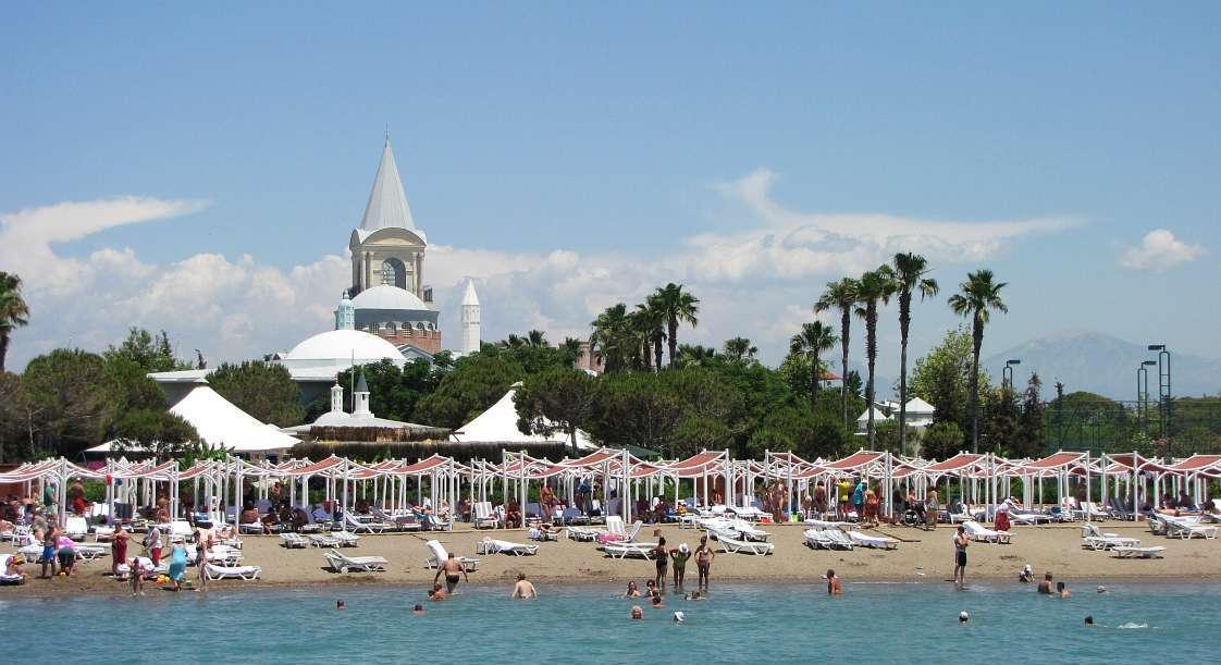 Mardan Palace пляж