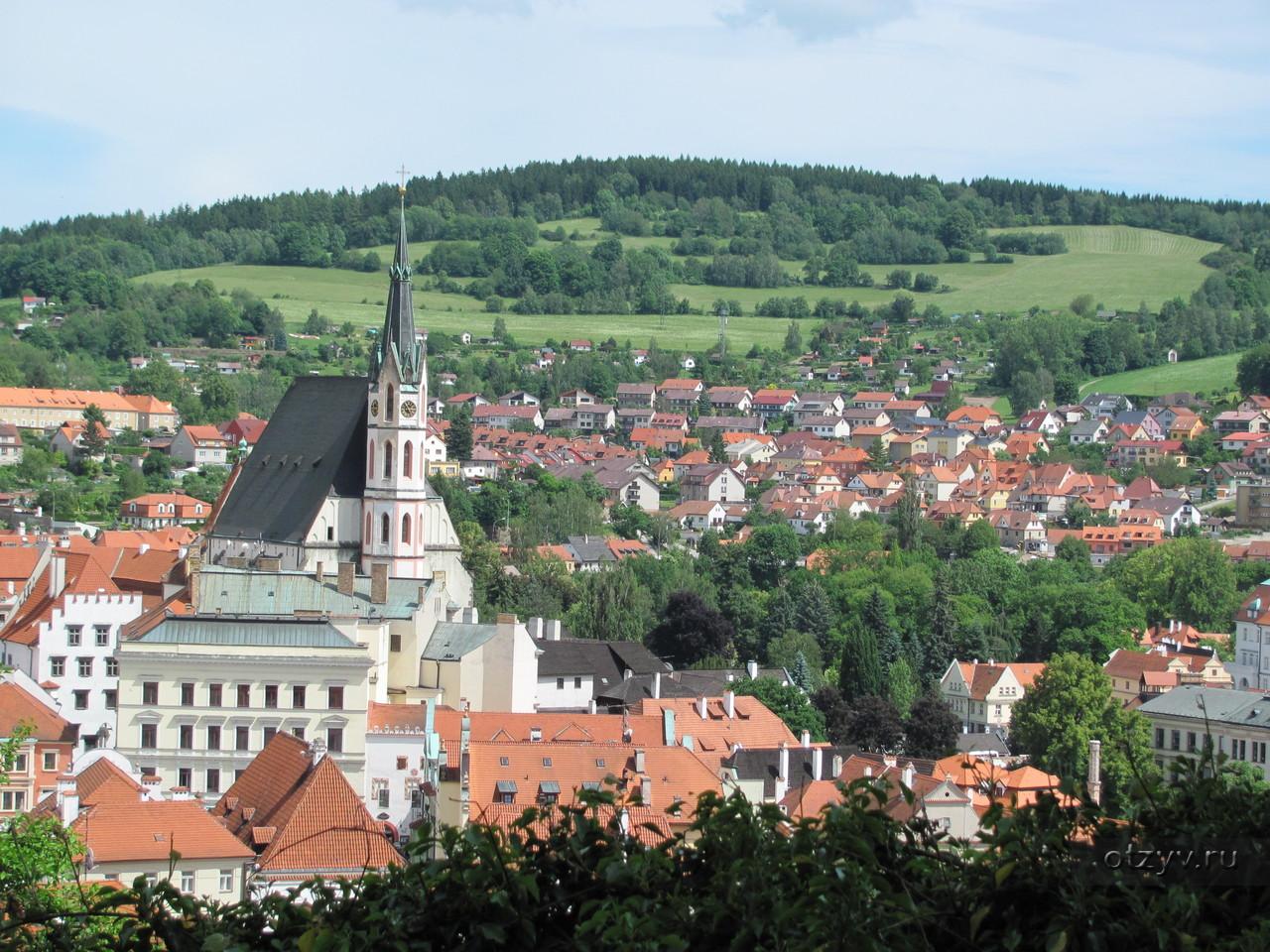 Виды окрестностей Праги