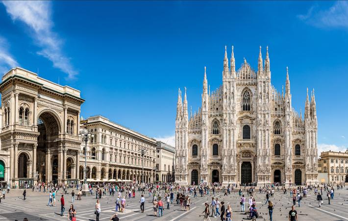 Пешая прогулка по Милану