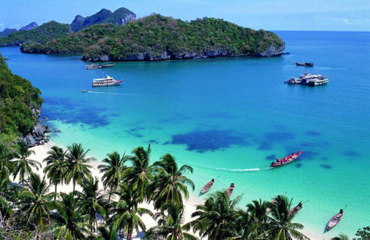 Теплое море в Таиланде