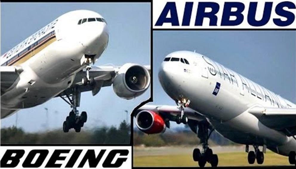 Боинг и аэробус