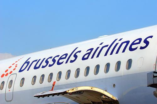 Самолет Брюссельских авиалиний