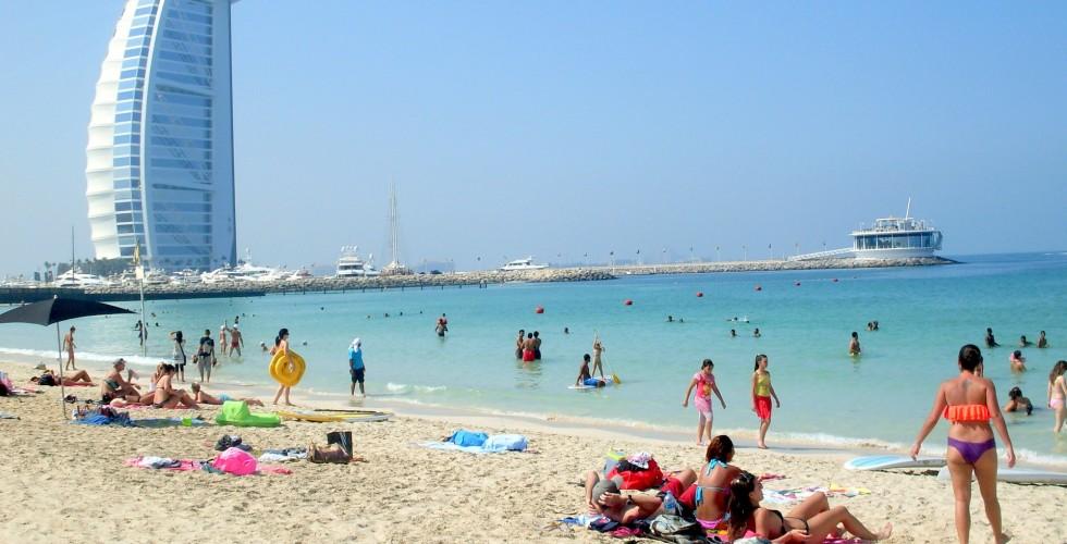 Пляж Дубаи