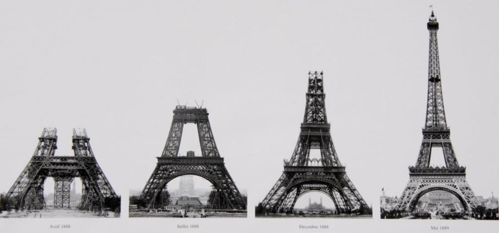 Эйфелева башня строительство