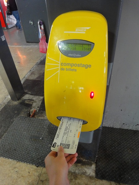 Как прокомпостировать билет