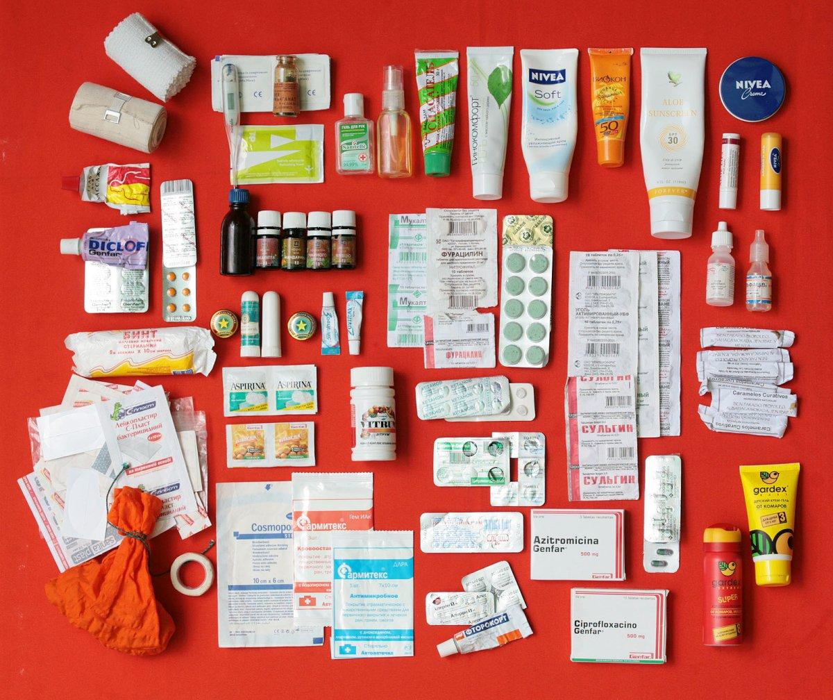 Аптечка туриста