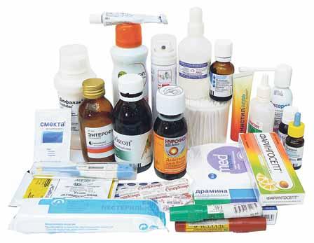 Аптечка в путешествия