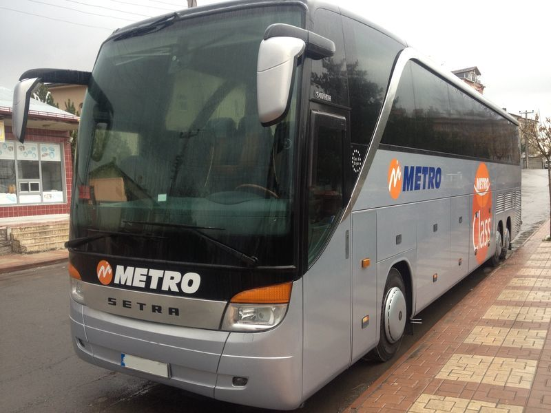 Автобус компании Метро