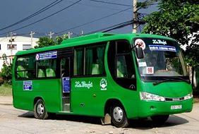 Автобусом из Начянга в Хошимин