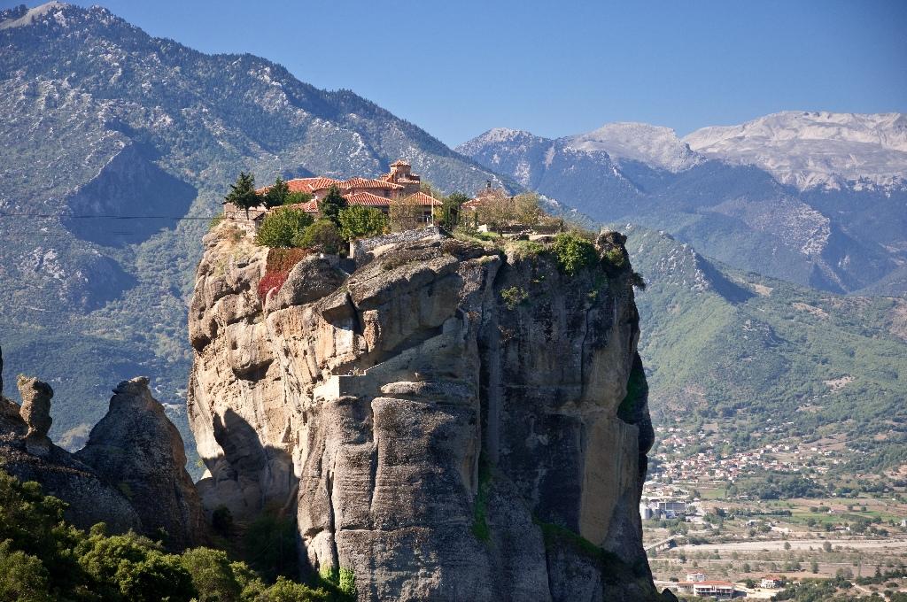 Монастырь Святой Троицы Метеоры