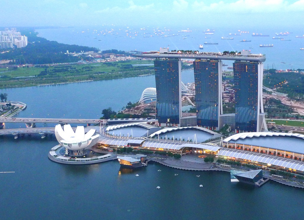 Море в Сингапуре