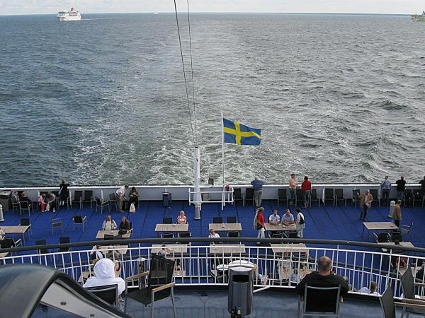 На пароме Viking XPRS