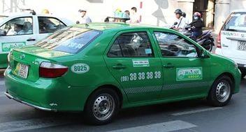 На такси из Начянга в Хошимин