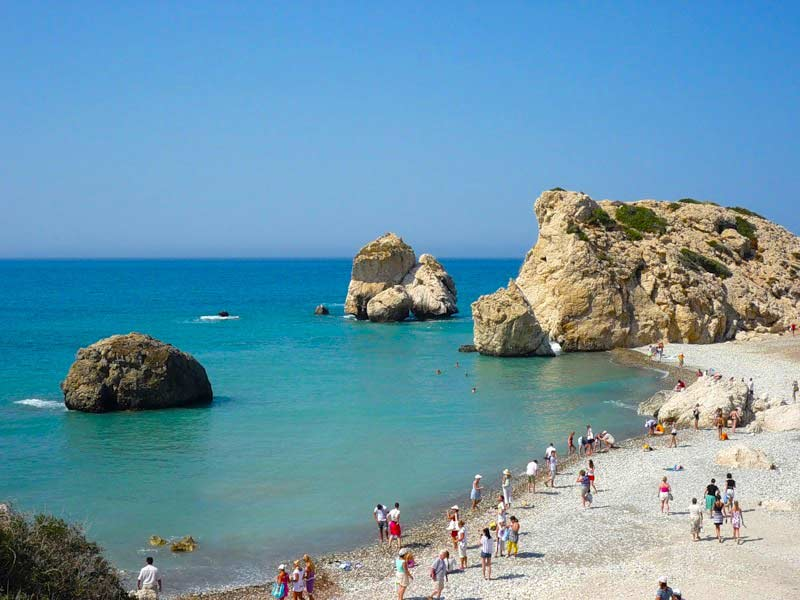 Пляж Афродиты на Кипре