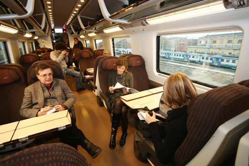 Скоростной поезд из Рима