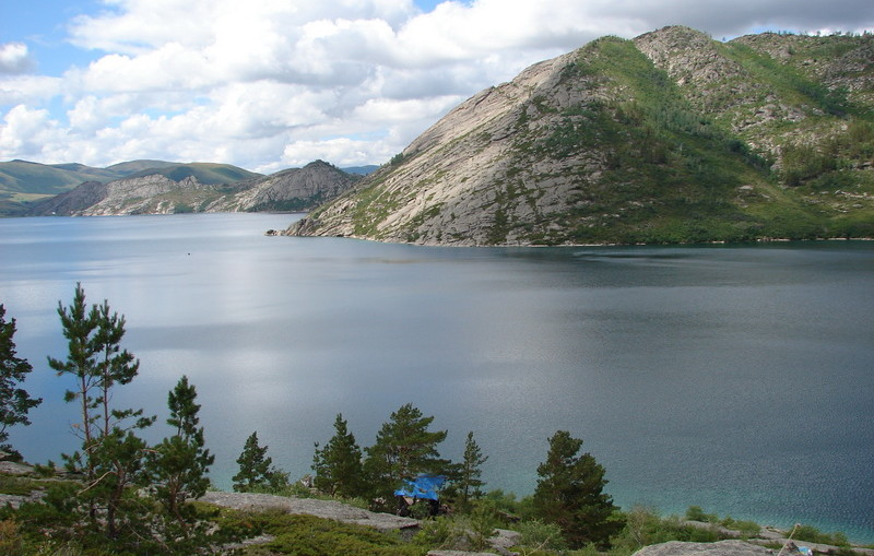Соленое озеро Кахазстана