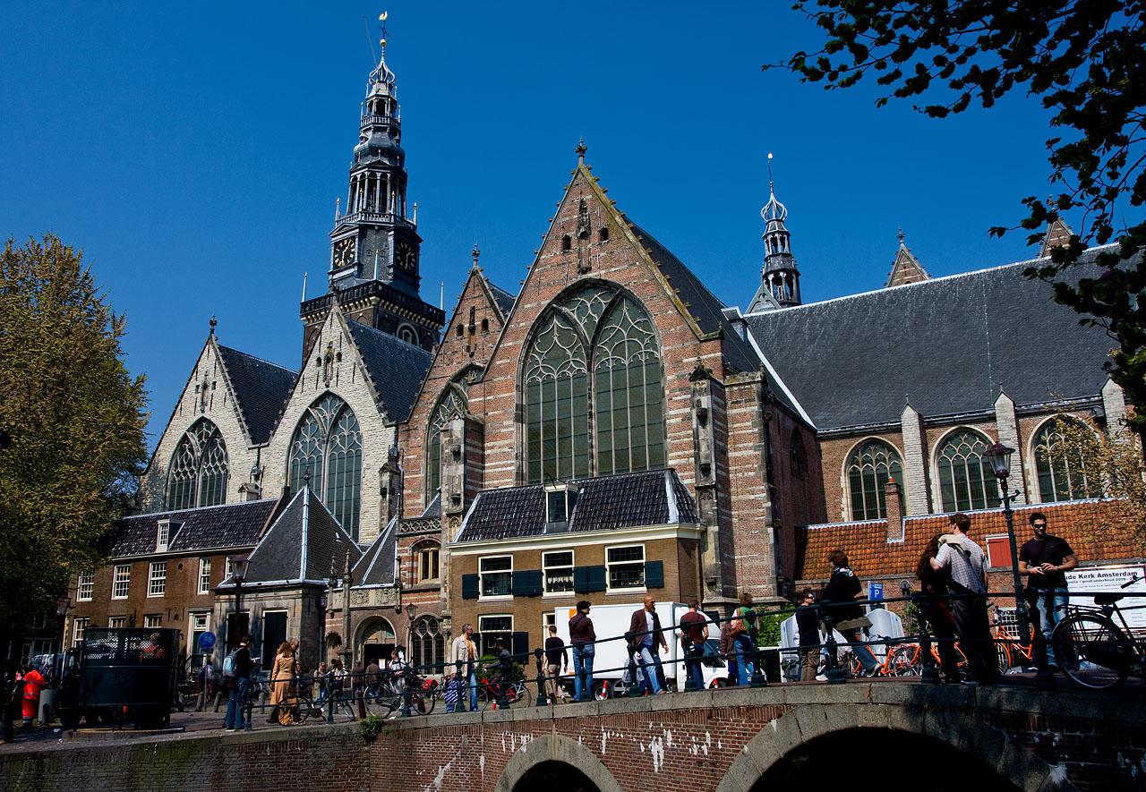 Старая Церковь в Амстердаме