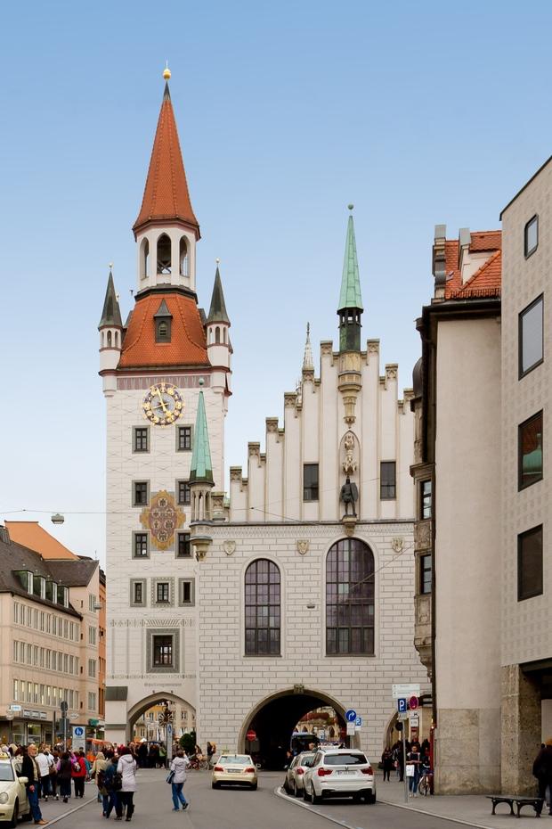 Старый город Мюнхена