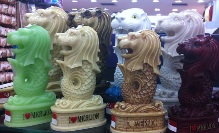 Сувениры из Сингапура