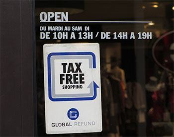 Такс фри Global refund