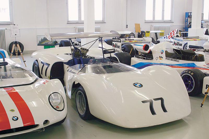 Выставка авто в музее БМВ