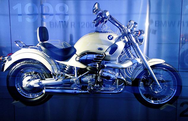 Выставка мотоциклов БМВ