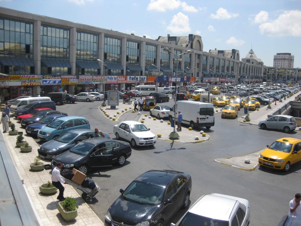 Вокзал Отагар в Стамбуле
