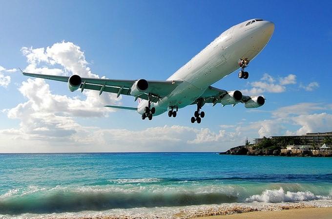 За границу на самолете