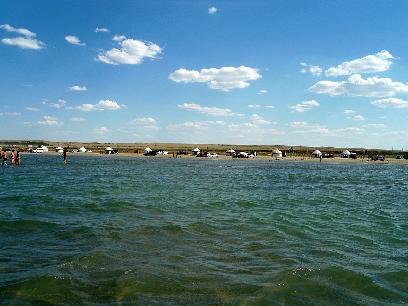 Отдых на озере Шалкар
