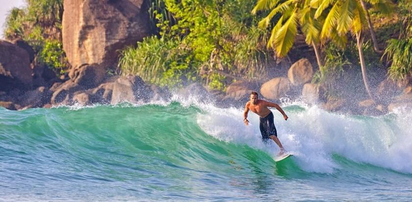 Серфинг на Шри Ланке