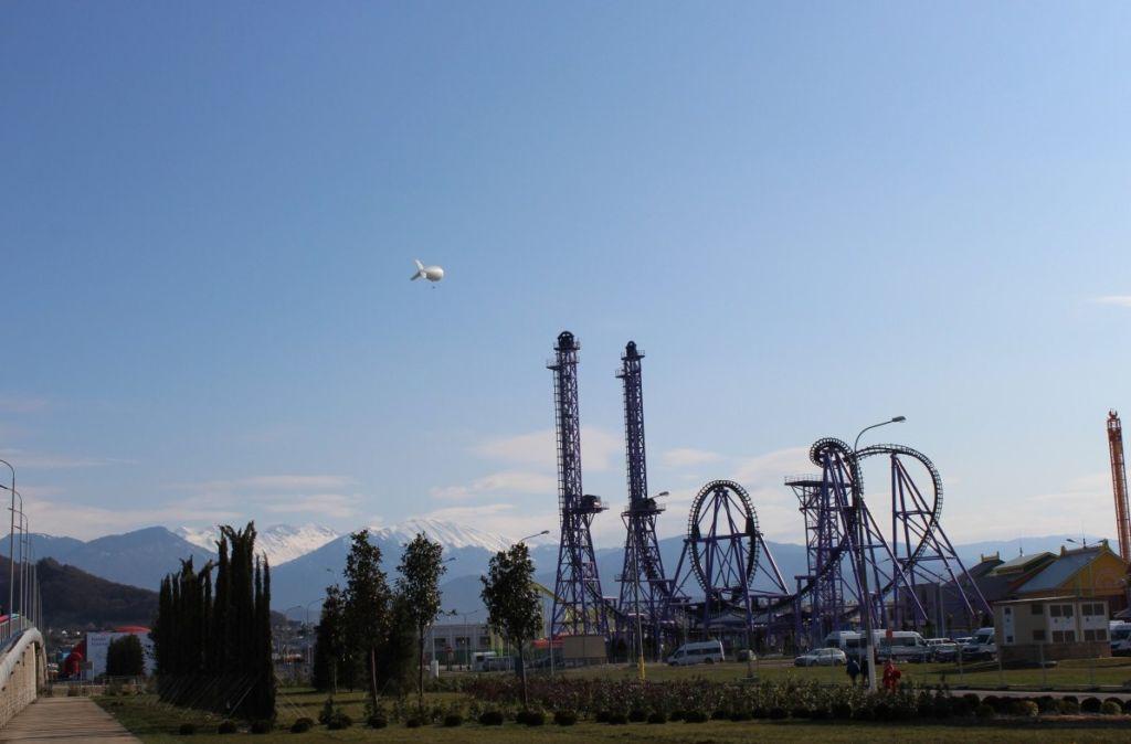 Парк в Сочи
