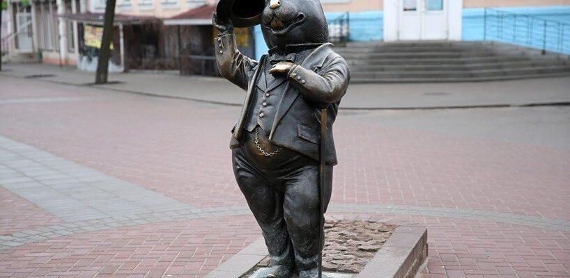 Памятник бобра в бобруйске